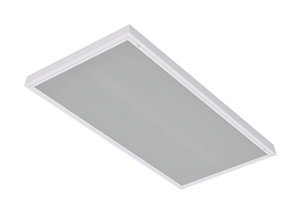 Surface mount fluorescent fixture