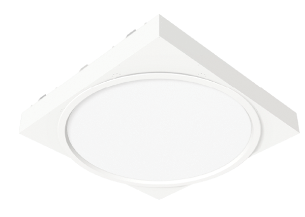 LED Recessed Circular Drywall Fixture