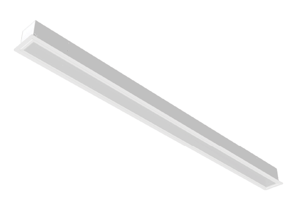 led recessed strip fixture