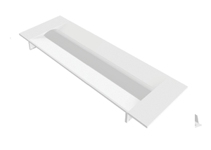LED Recessed Troffer - For 5 Foot Modular Ceilings