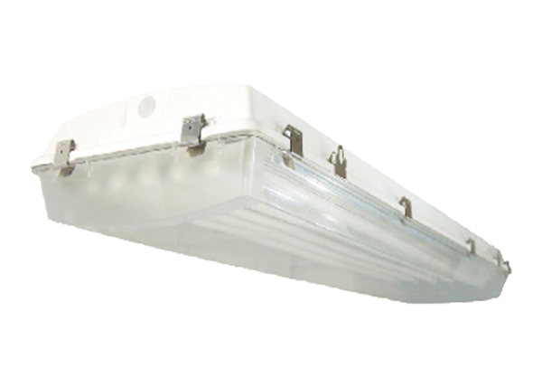 Gasketed high bay fluorescent